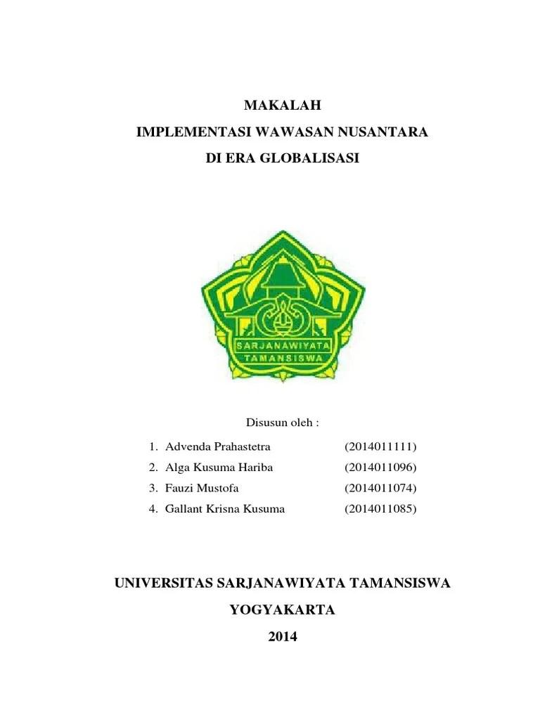 Contoh Makalah Wawasan Nusantara Dalam Pembangunan Nasional Temukan Contoh Cute766