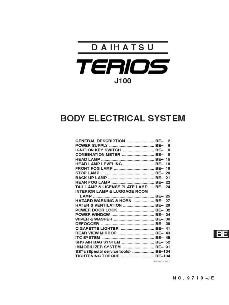 hight resolution of daihatsu terio 1997 wiring diagram
