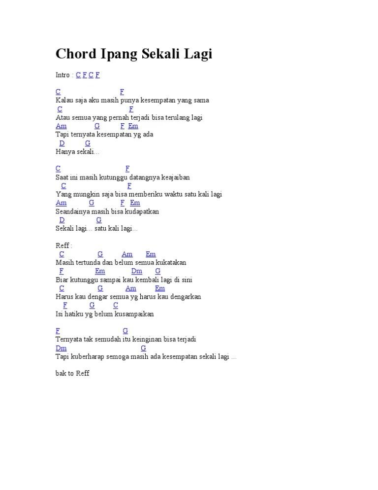 Chordtela Ipank Ku Puja Puja : chordtela, ipank, Chord, Gitar, Dasar