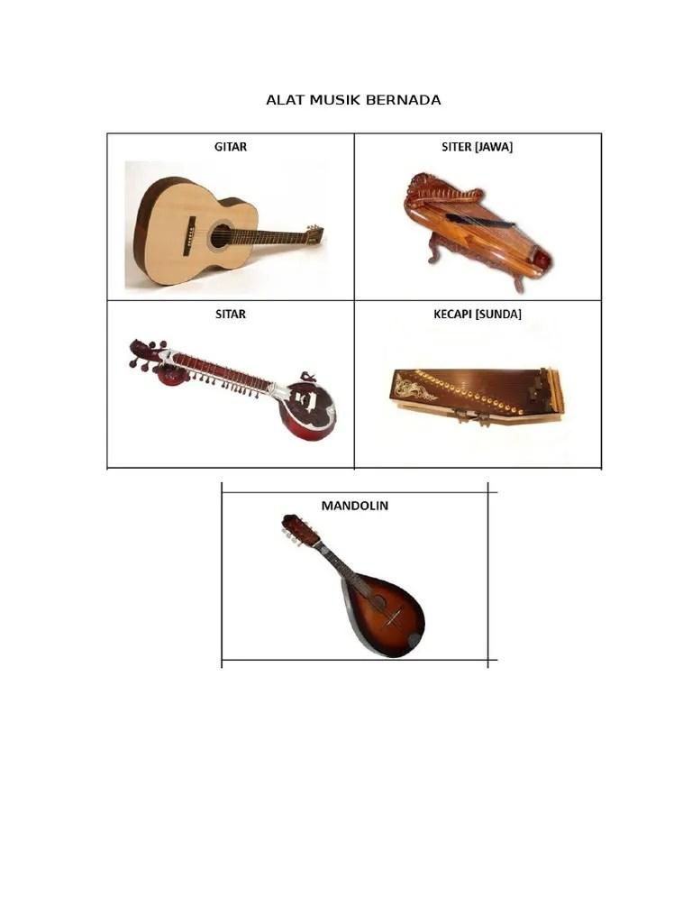 Alat Musik Yang Tidak Bernada Disebut : musik, tidak, bernada, disebut, Musik, Bernad1