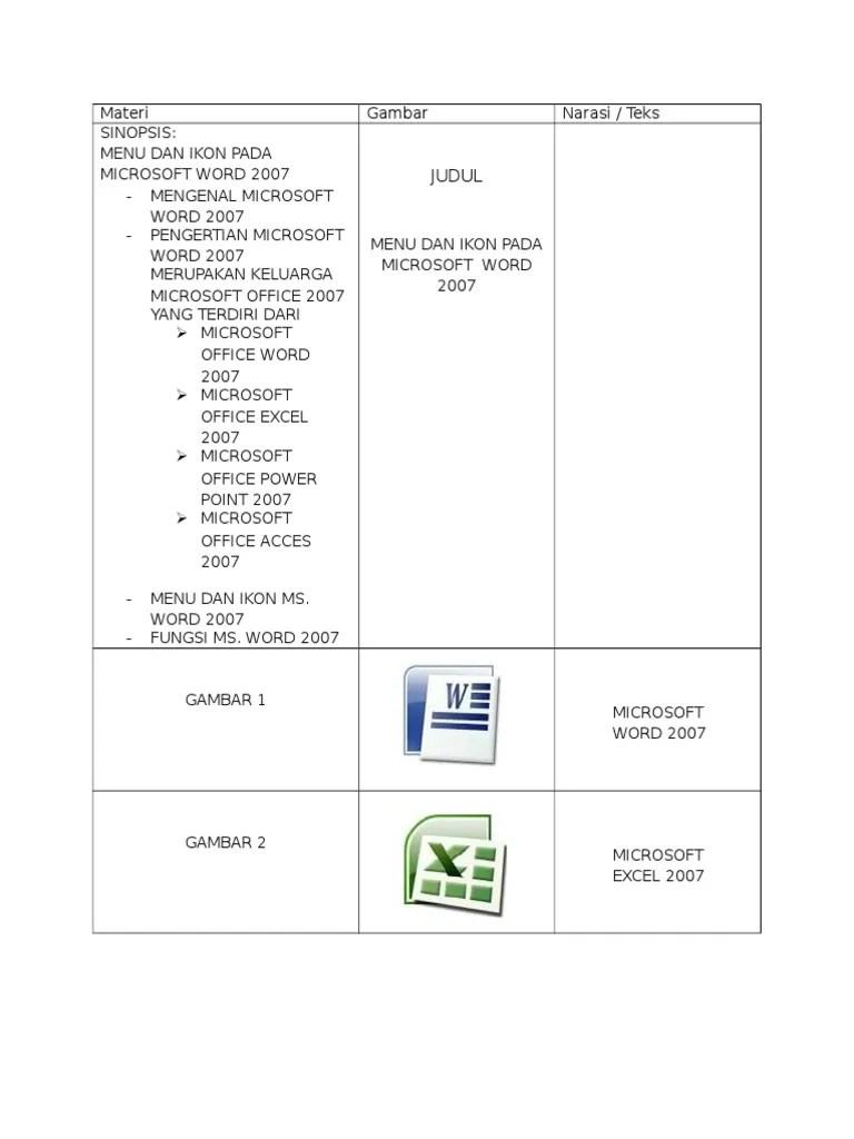 Fungsi Menu Dan Ikon Pada Microsoft Powerpoint 2007 : fungsi, microsoft, powerpoint, Materi