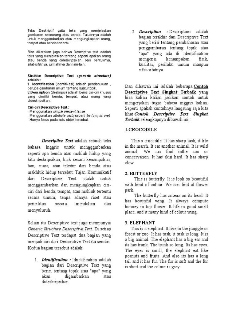 Deskripsi Benda Dalam Bahasa Inggris : deskripsi, benda, dalam, bahasa, inggris, Contoh, Deskripsi, Benda, Dalam, Bahasa, Inggris, Aneka, Cute766