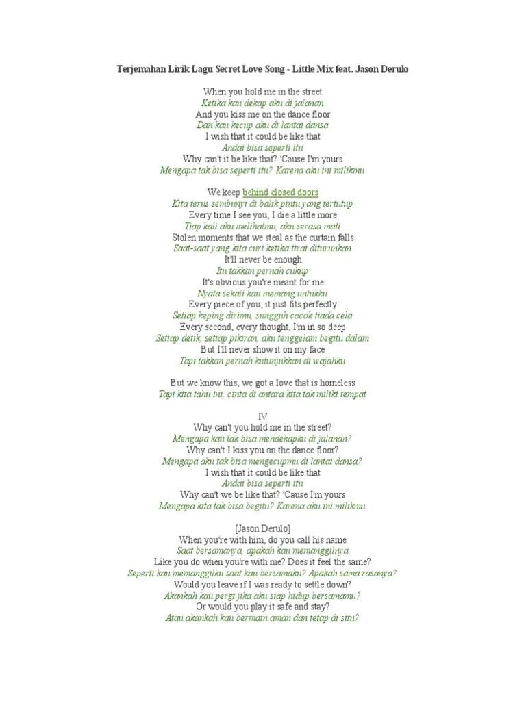 Lirik Lagu Little Do You Know : lirik, little, Lirik, Secret, Cover, Morissette