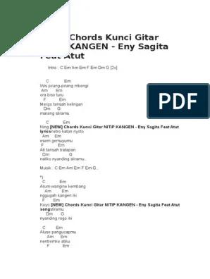 Chord Nitip Kangen - Lilin Herlina Feat Brodin Kunci Gitar... | Chordvisa
