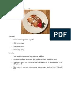 Contoh Procedure Text Makanan : contoh, procedure, makanan, Contoh, Procedure, Indonesian, Cuisine, Cakes