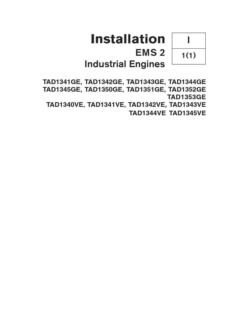 medium resolution of volvo 7748542 us installation ems 2 d13 fuel injection volvo ems2 wiring diagram
