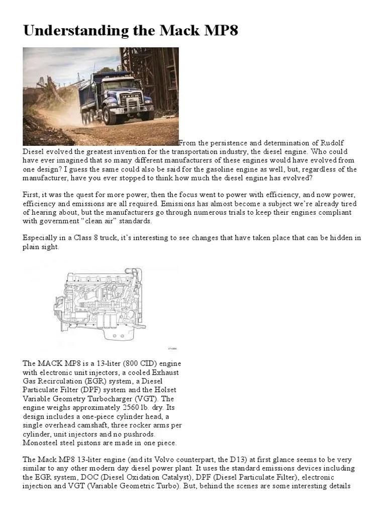 understanding the mack mp8 engine builder magazine fuel injection diesel engine [ 768 x 1024 Pixel ]