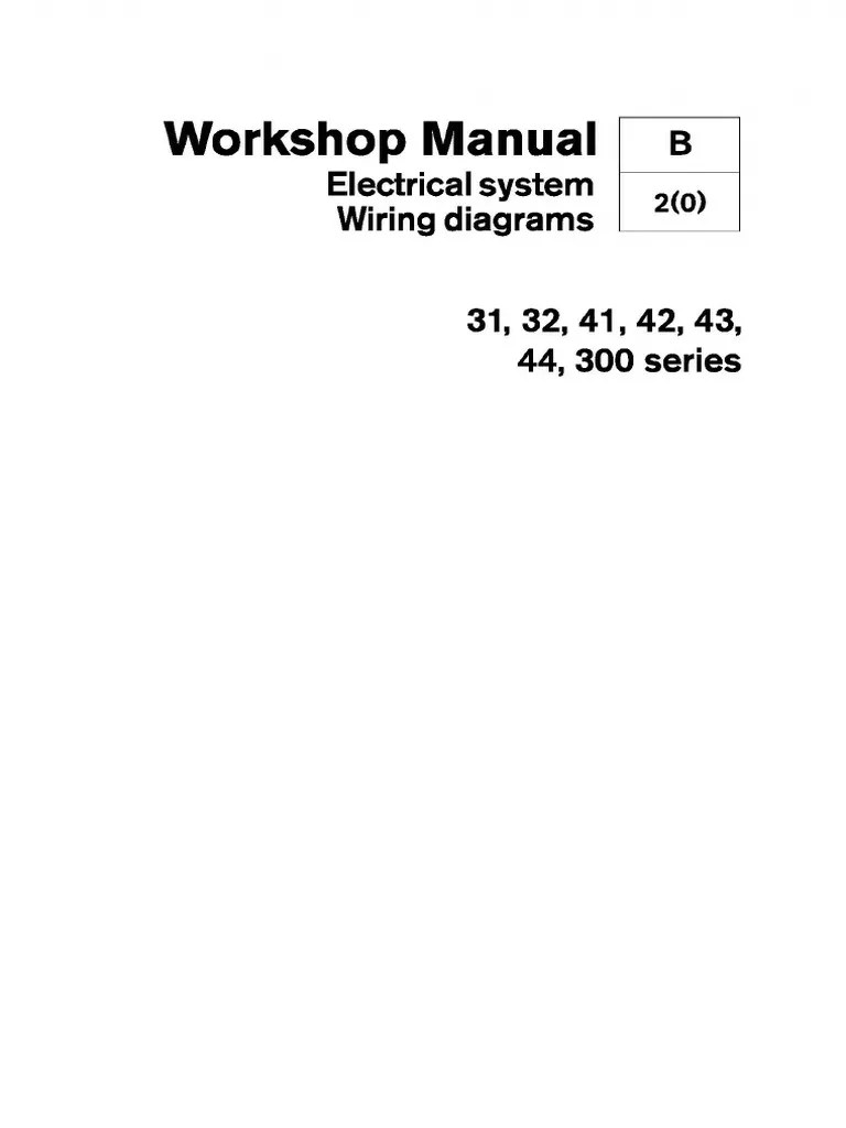 medium resolution of volvo penta 31 32 41 42 43 44 300 series wiring diagrams battery electricity components