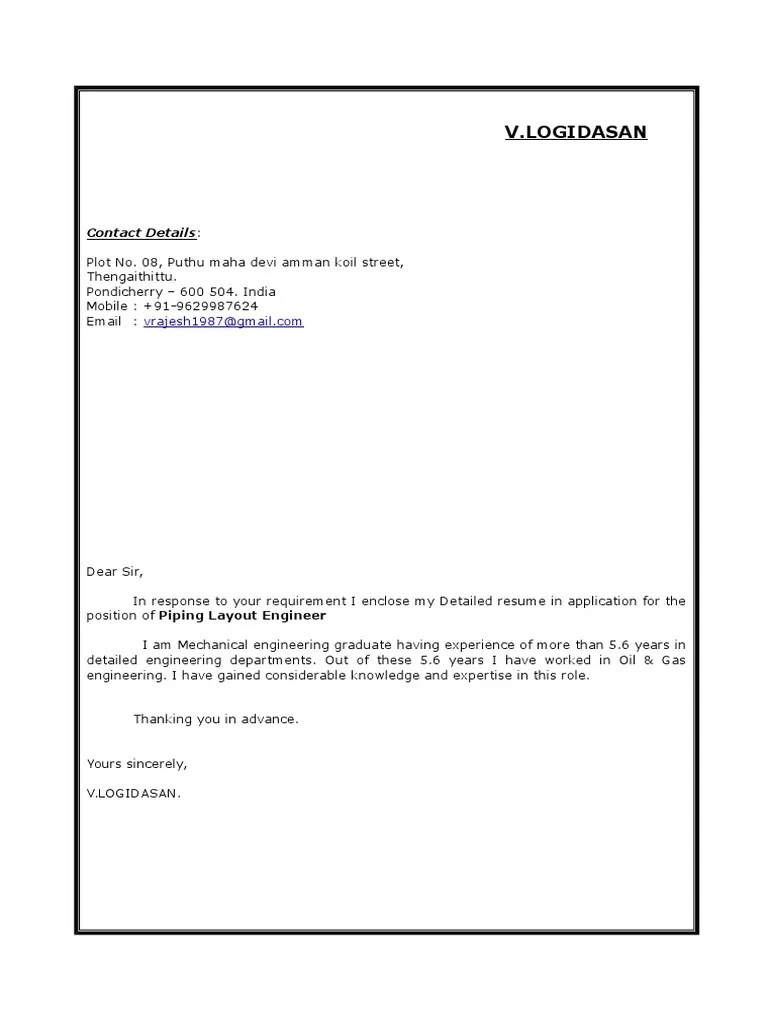 hight resolution of piping layout engineer resume