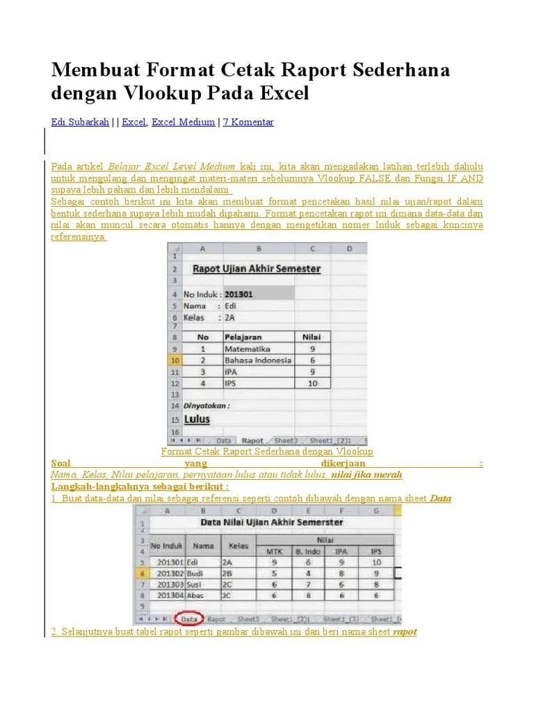 Rumus Excel Mencari Data Yang Sama : rumus, excel, mencari, Mencari, Excel, Dengan, Vlookup, Cute766