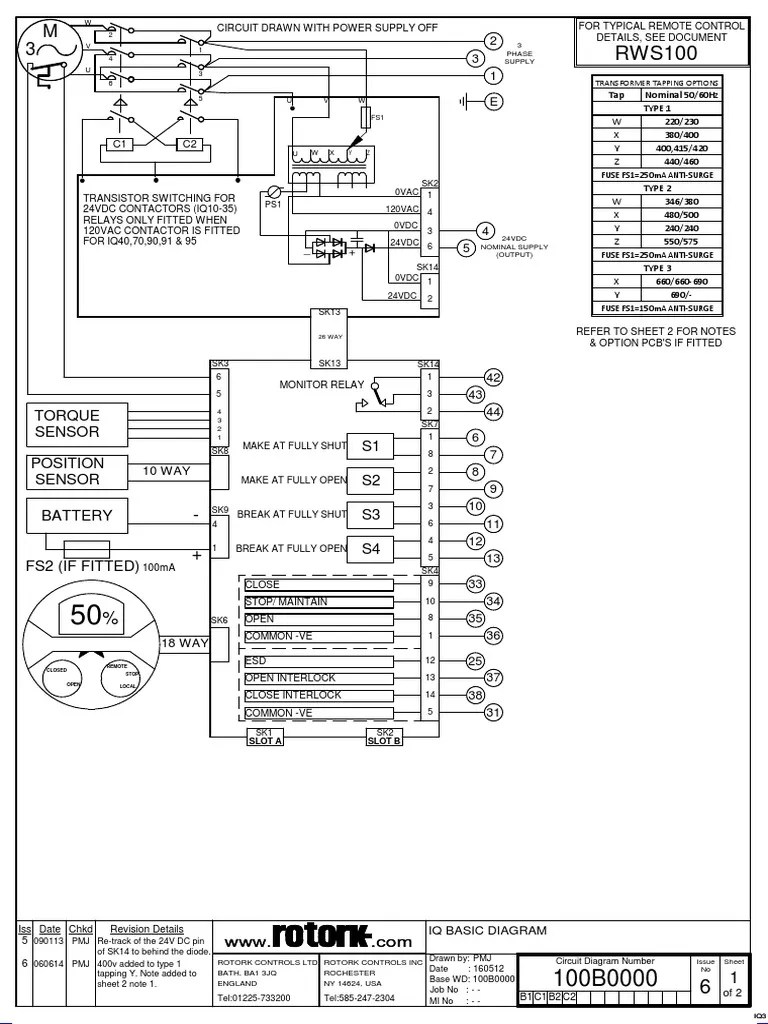 rotork wiring diagram rotork wiring diagram