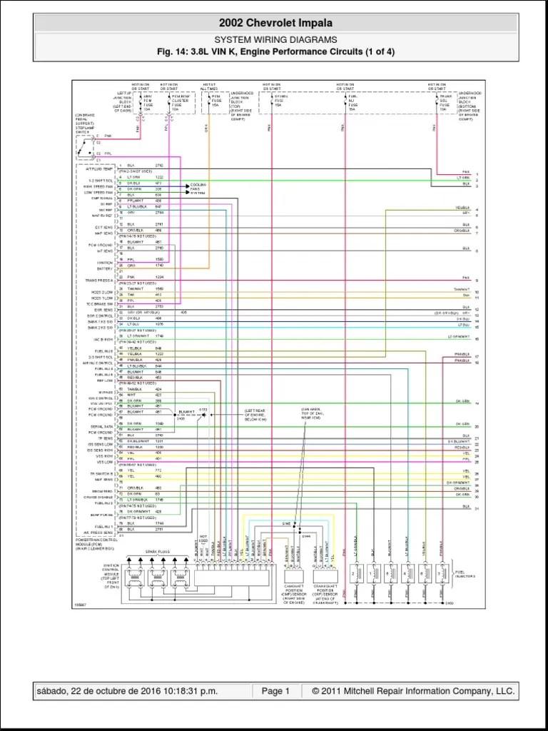 chevy impala 3 8 l engine diagram [ 768 x 1024 Pixel ]