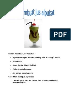 Contoh Teks Prosedur Membuat Minuman Segar : contoh, prosedur, membuat, minuman, segar, Contoh, Prosedur, Sederhana, Membuat, Goresan