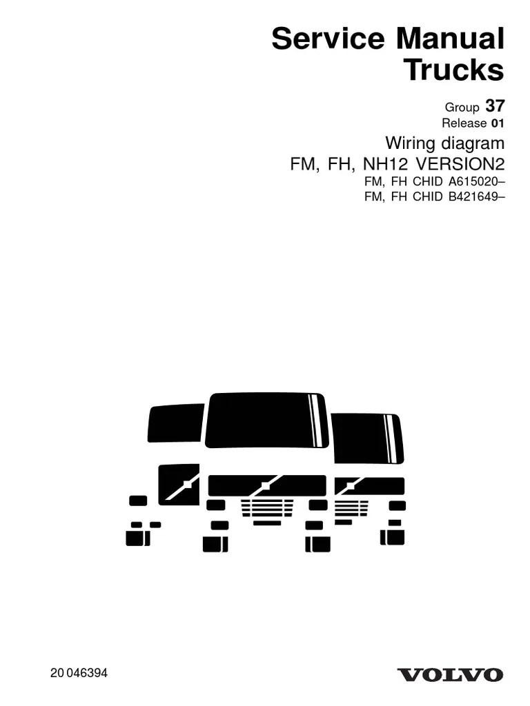 medium resolution of 20046394 wiring diagram fm fh nh12 version2 pdf electrical volvo trucks vnl 670 volvo vnl truck wiring diagrams low air