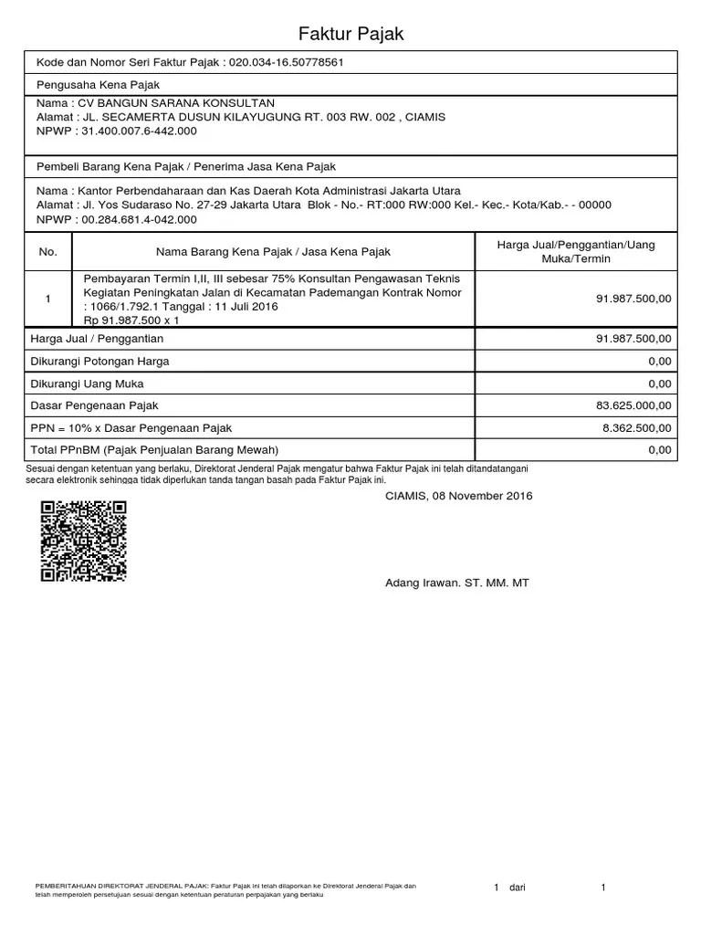 Kode Faktur Pajak 020 : faktur, pajak, Faktur, Pajak, Seputar, Cute766