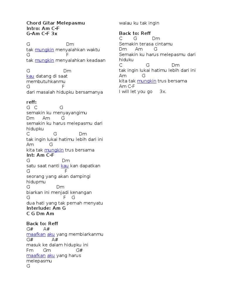 Chord Merpati Setia Selamany - Chord Gitar Indonesia - Kumpulan...