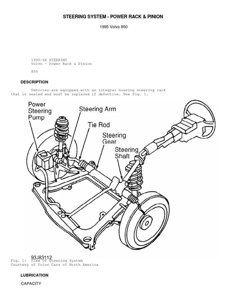 medium resolution of power steering system engine diagram