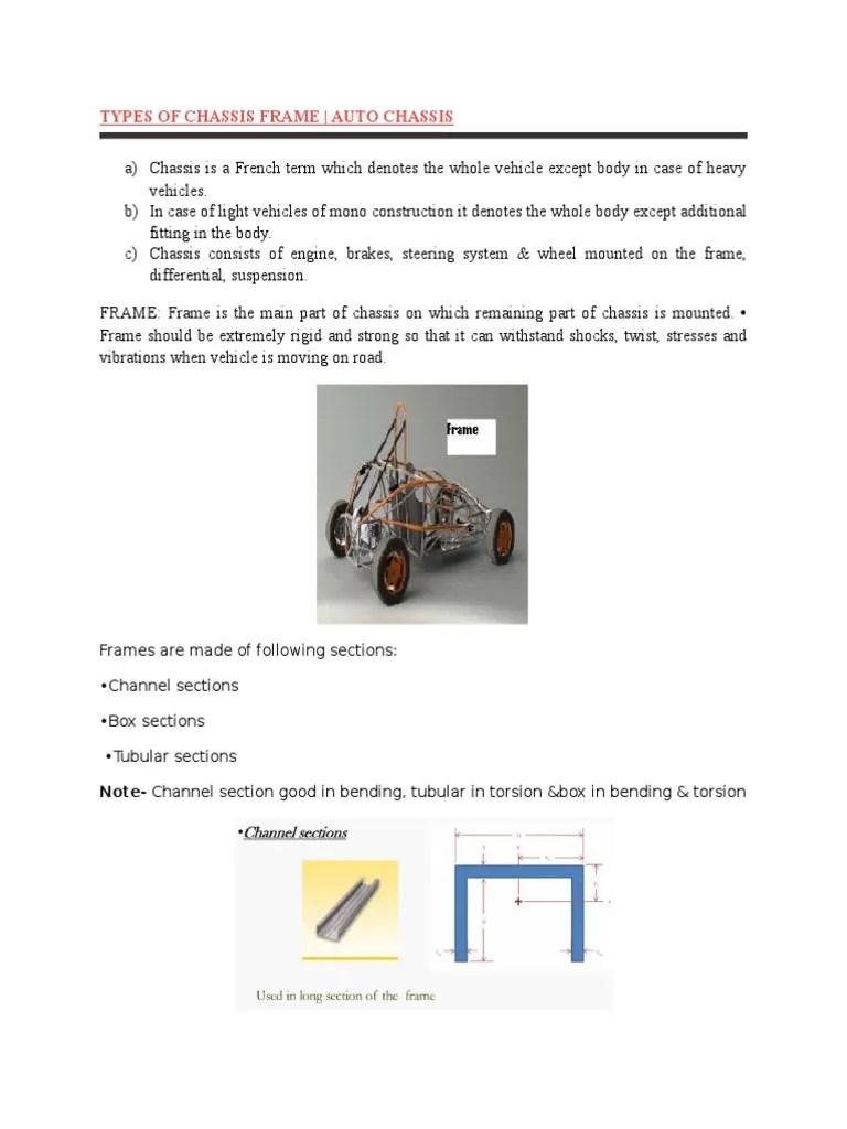 small resolution of auto frame diagram