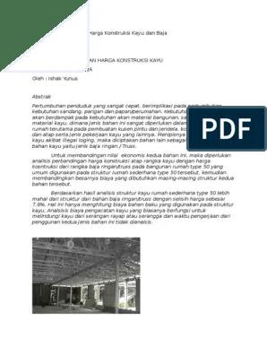 menghitung kebutuhan baja ringan atap jurai analisis perbandingan harga konstruksi kayu dan