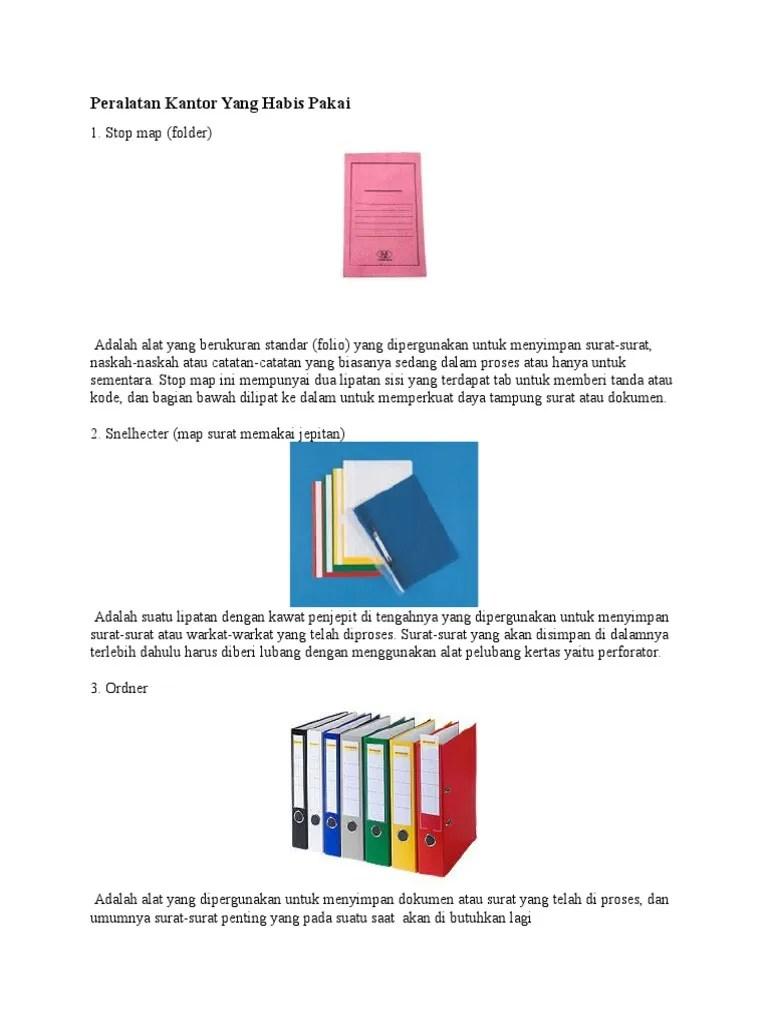 Peralatan Kantor Yang Habis Pakai : peralatan, kantor, habis, pakai, Peralatan, Kantor, Habis, Pakai