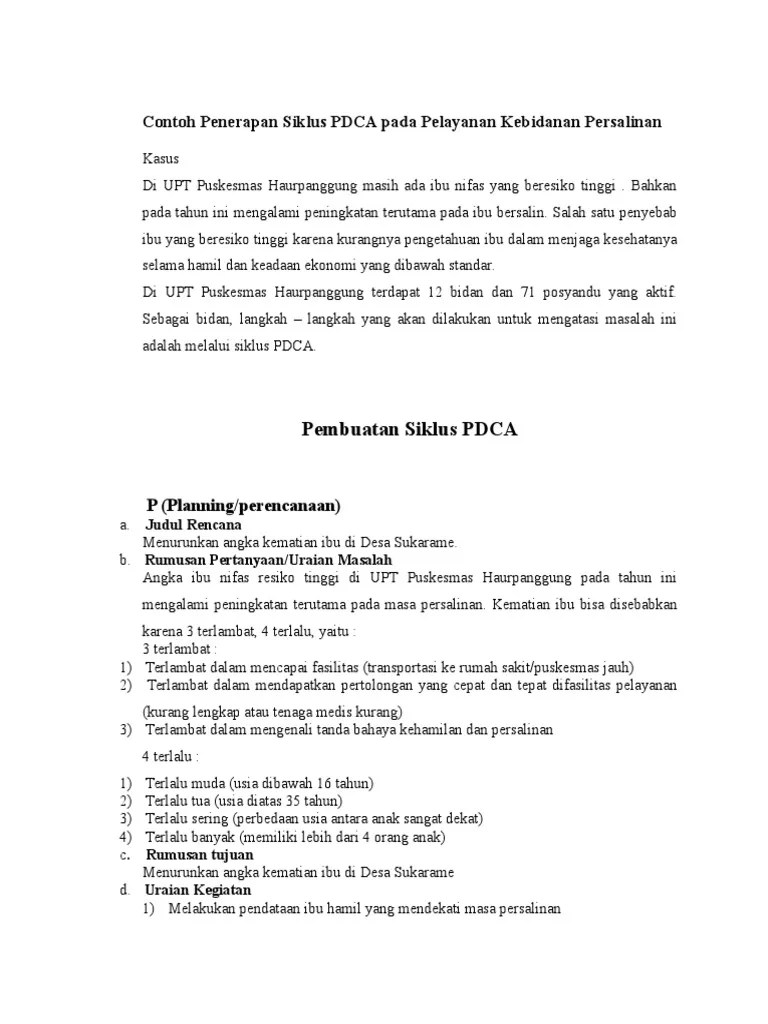 Plan Do Check Act (PDCA) - Six Sigma