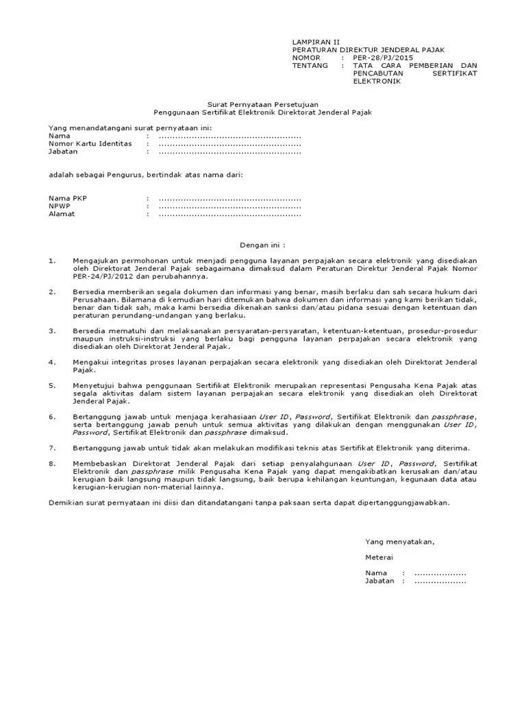 Surat Permohonan Perpanjangan Sertifikat Elektronik Word : surat, permohonan, perpanjangan, sertifikat, elektronik, Contoh, Surat, Permintaan, Perpanjang, Sertifikat, Elektronik, Sudah, Ditandatangani, ID.Lif.co.id
