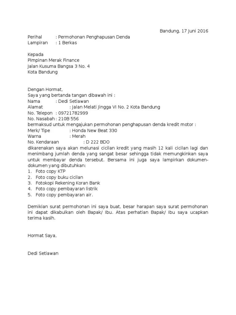 Contoh Surat Permohonan Restrukturisasi Kredit : contoh, surat, permohonan, restrukturisasi, kredit, Contoh, Surat, Permohonan, Reschedule, Cute766