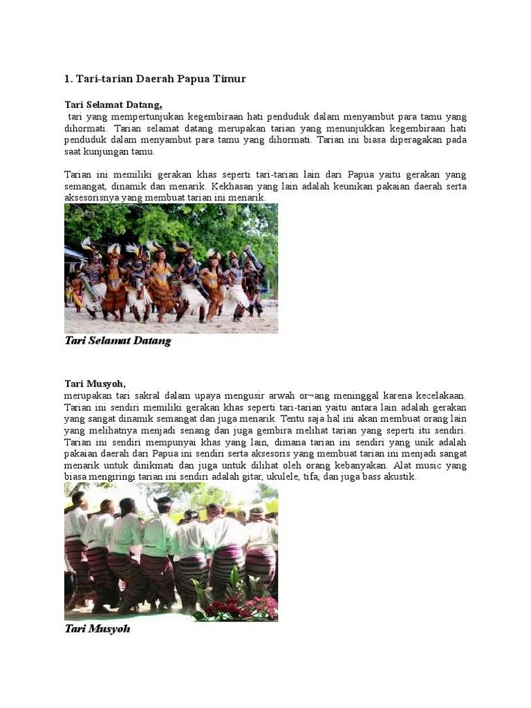 Tari Selamat Datang Berasal Dari : selamat, datang, berasal, Tarian, Papua, Selamat, Datang