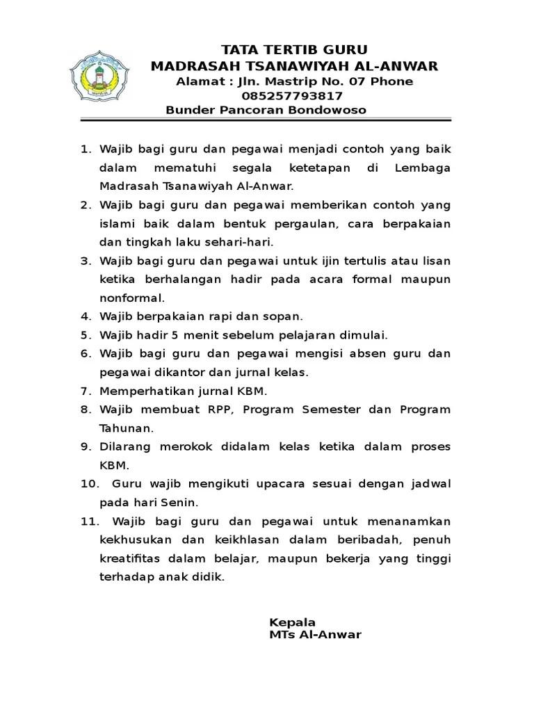 Tata Tertib Guru Indonesia : tertib, indonesia, Tertib, Indonesia, Cute766