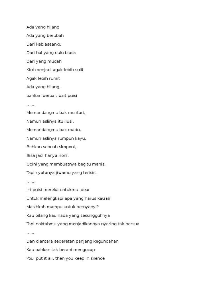Barisan Puisi Ini : barisan, puisi, Barisan, Puisi