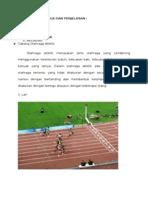 20 Cabang Olahraga Dan Penjelasannya : cabang, olahraga, penjelasannya, Cabang, Olahraga, Penjelasan-1