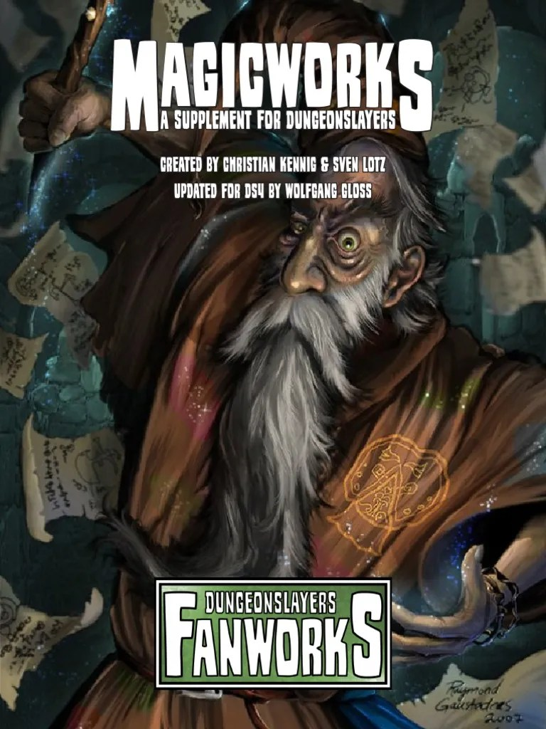 Dungeonslayers : dungeonslayers, DS4FWMagicworks.pdf, Fantasy, Leisure