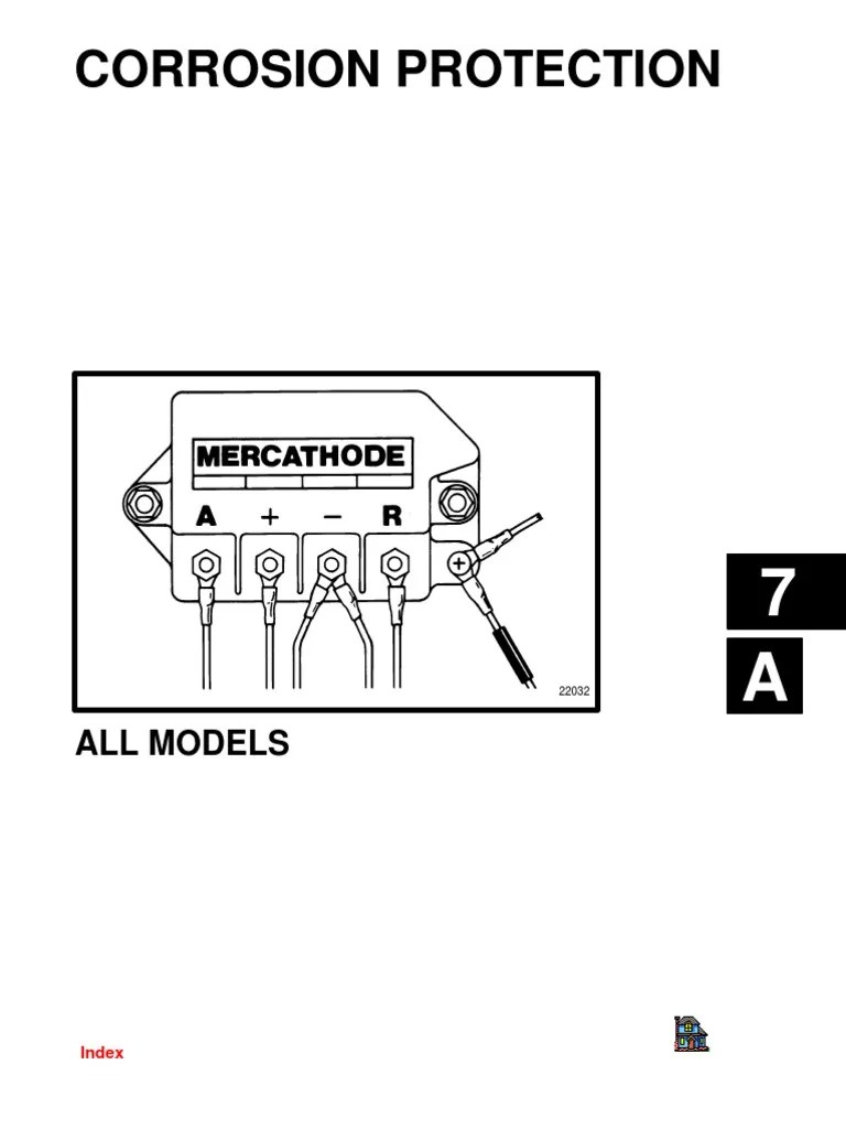 small resolution of mercathode system wiring diagram
