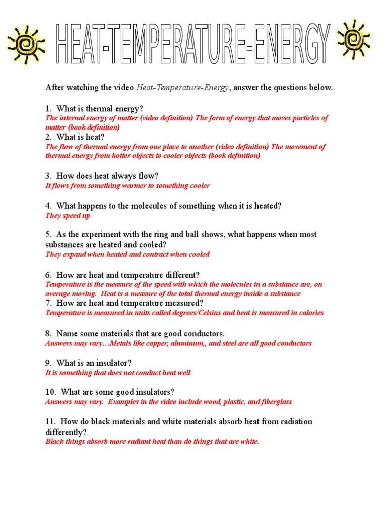 medium resolution of answer key-temp-heat-energy video questions