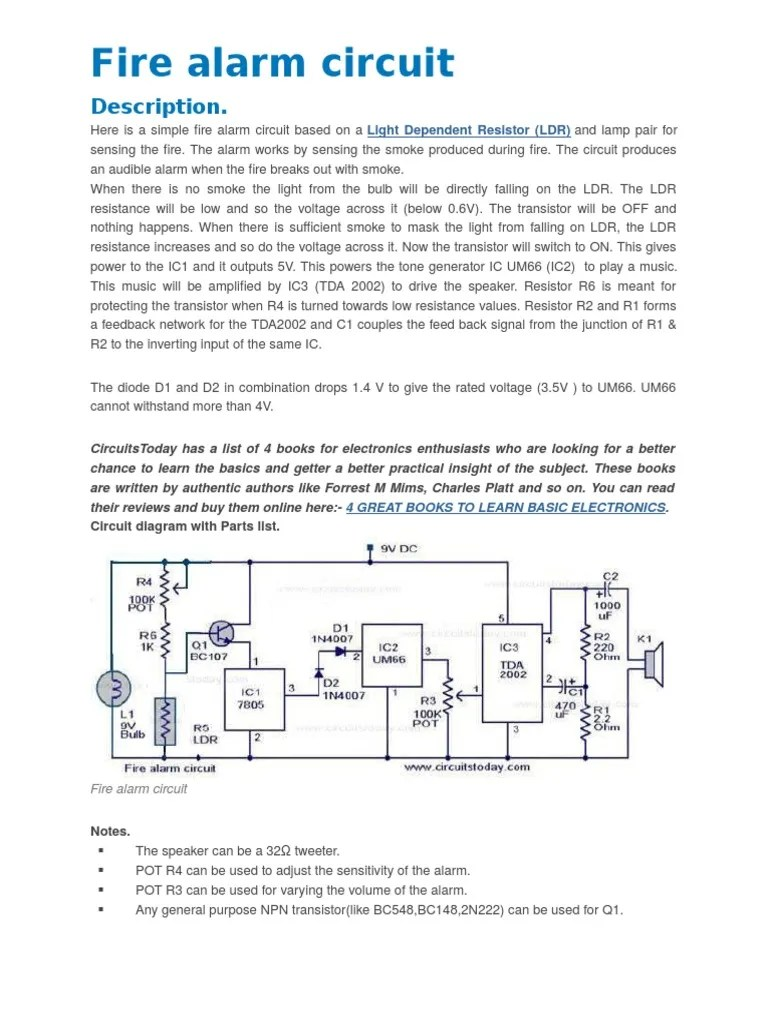 fire alarm circuit diagram [ 768 x 1024 Pixel ]