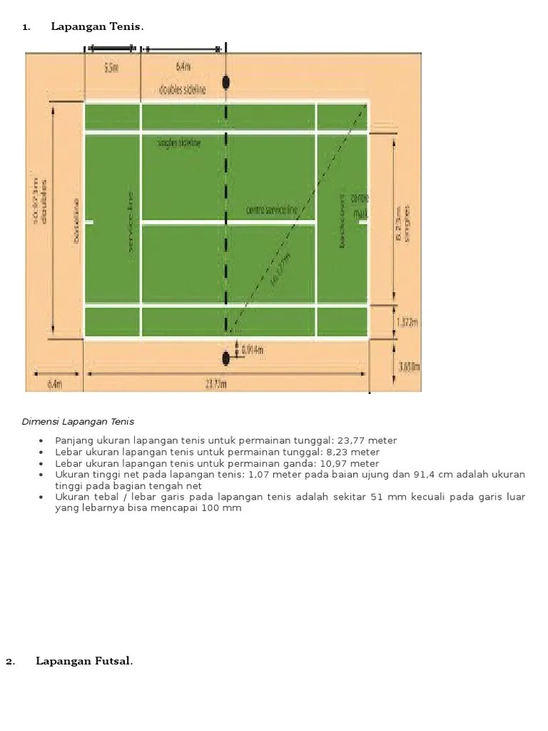 Ukuran Lapangan Tenis Meja Dan Gambarnya : ukuran, lapangan, tenis, gambarnya, Gambar, Ukuran, Lapangan, Tenis, Kumpulan, Materi, Pelajaran, Contoh