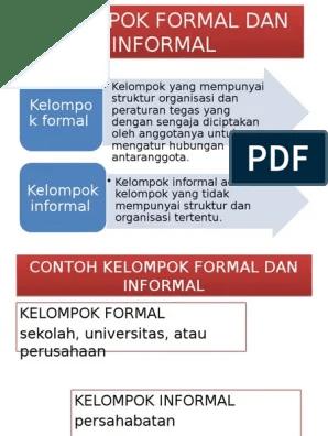 Contoh Kelompok Formal : contoh, kelompok, formal, Contoh, Kelompok, Sosial, Formal, Informal, Sekali