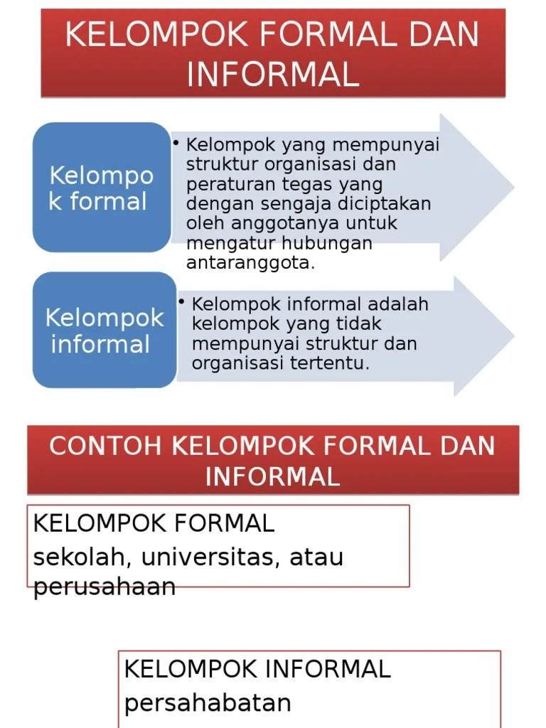 Contoh Kelompok Formal : contoh, kelompok, formal, KELOMPOK, FORMAL, INFORMAL, Tiara.pptx