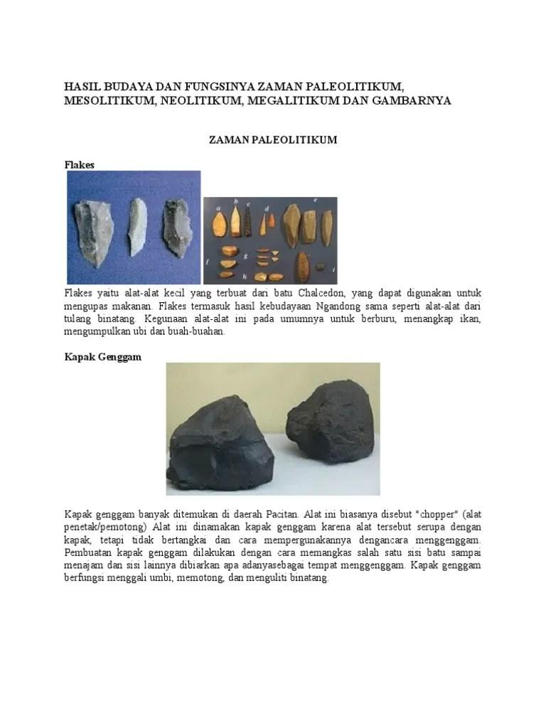 Pengertian Kebudayaan Ngandong : pengertian, kebudayaan, ngandong, Hasil, Budaya, Fungsinya, Zaman, Paleolitikum