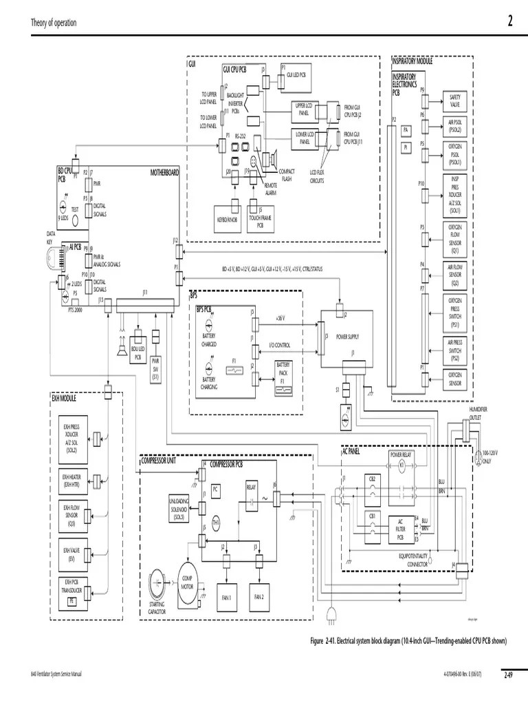 hight resolution of 840 service manual rev e 11x17 foldouts printed circuit board electric power