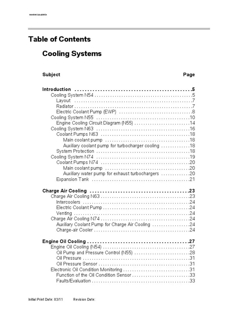 medium resolution of n54 engine cooling system diagram
