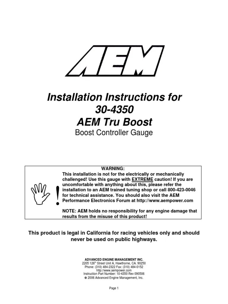 Aem Boost Gauge Wiring Diagram - aem ecu wiring diagram ... on