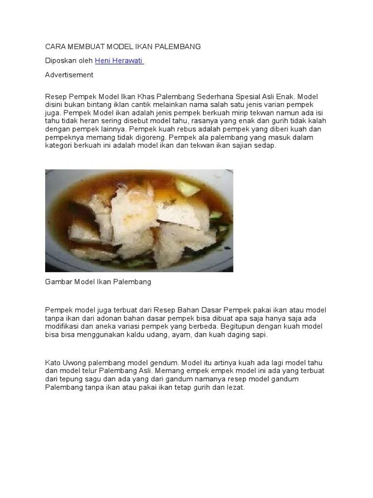 Resep Kuah Tekwan Tanpa Udang : resep, tekwan, tanpa, udang, Membuat, Model, Palembang