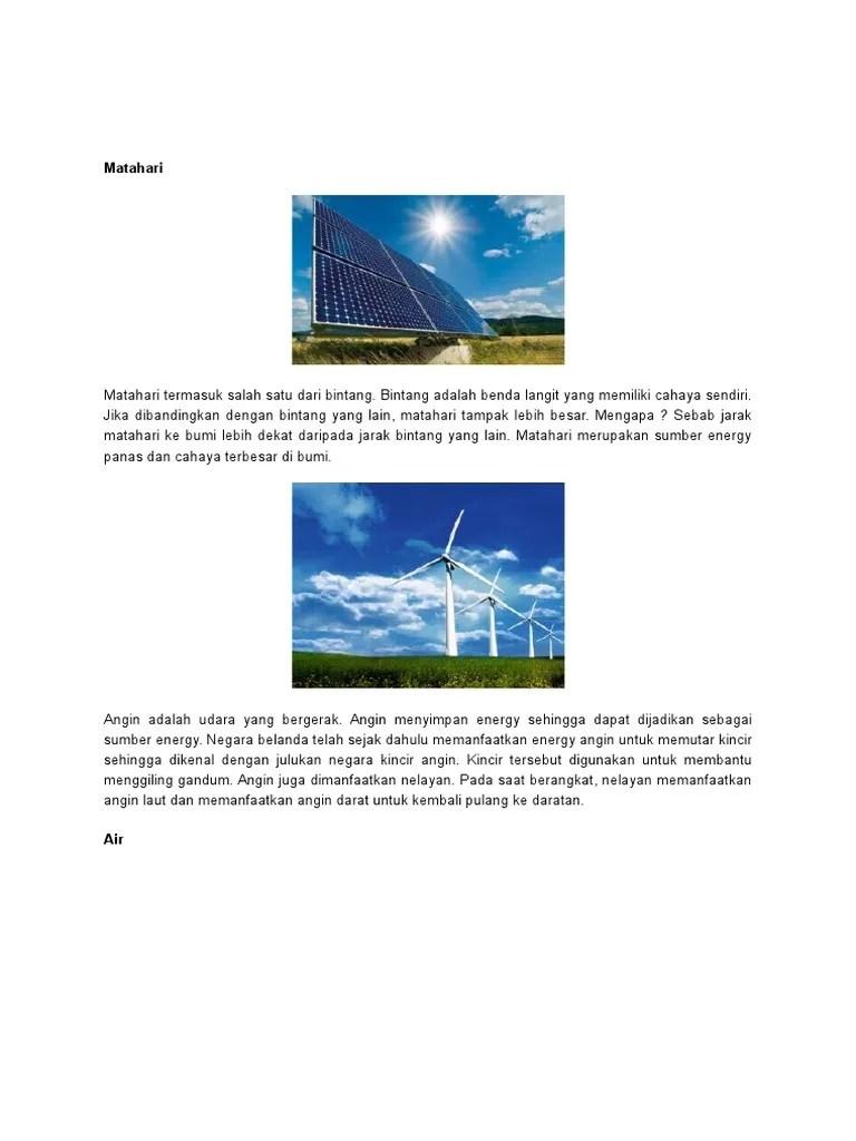 Mengapa Belanda Disebut Negara Kincir Angin : mengapa, belanda, disebut, negara, kincir, angin, Sumber, Energi