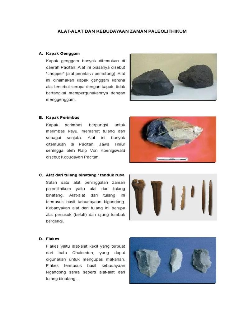 Pengertian Kebudayaan Ngandong : pengertian, kebudayaan, ngandong, Gambar, Tulang, Tanduk, Binatang