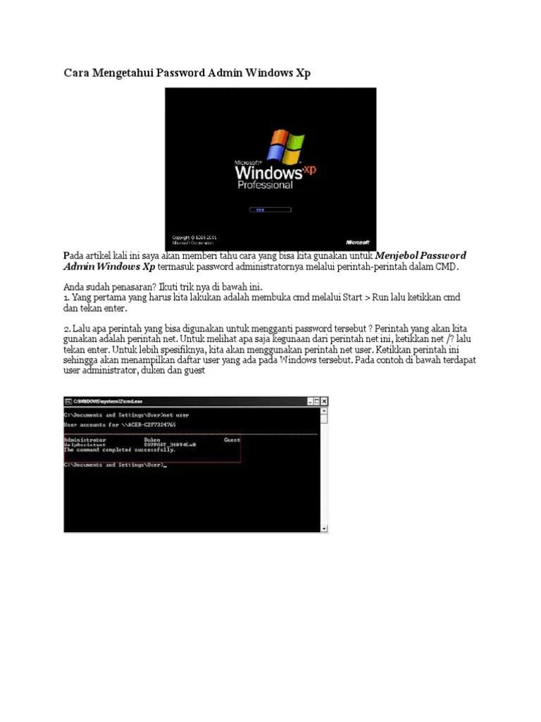 3 Cara untuk Menjadi Administrator di Komputer Windows