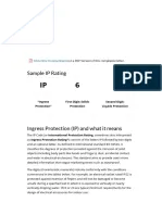 Ip rating chart index protection pdf also electrical engineering rh scribd