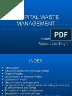 Bio Medical Waste Management Ppt Final1 | Waste | Infection