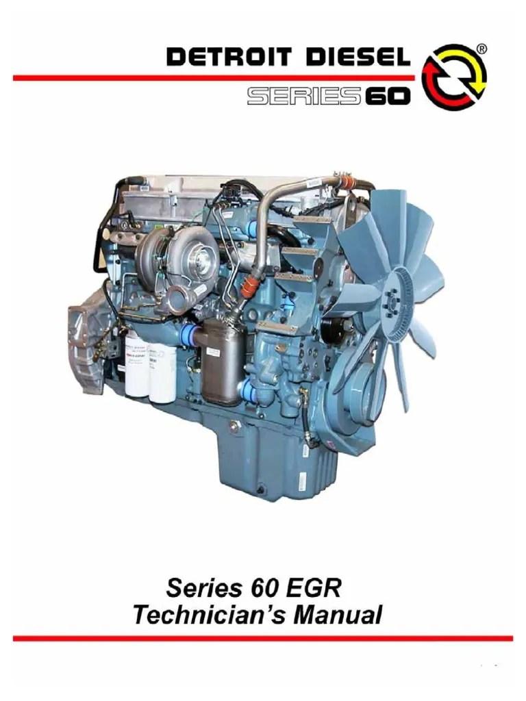 Detroit Diesel Series 60 Engine Diagram : detroit, diesel, series, engine, diagram, Series, Guide, Turbocharger, Diesel, Engine