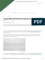 Hack Wifi Wpa2 Psk Windows 7 2017 : windows, Wi-Fi_, Cracking, WPA2-PSK, Passwords, Using, Aircrack-Ng, WonderHowTo, Computer, Security